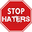 stop haters